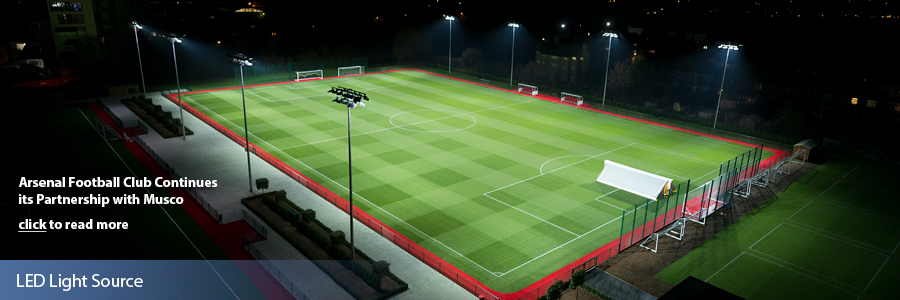 Hale End Training Academy – Arsenal Football Club - LED Light Source