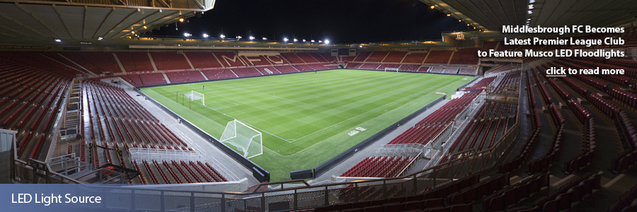 Middlesbrough FC - LED Light Source